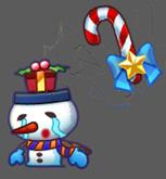 唯舞獨尊-耶誕雪人怪